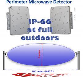 Avm 150 Outdoor Microwave Detector