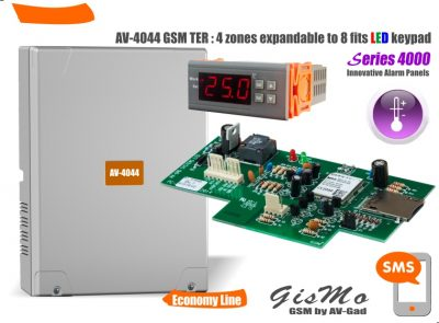 Series 4000 GSM Temperature Alert