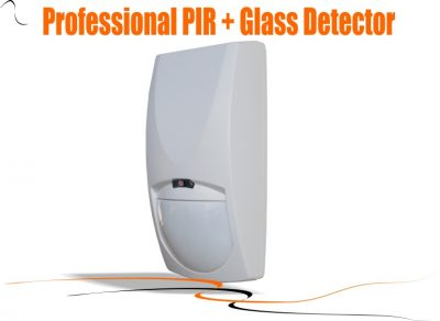 PIR with glass break