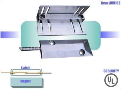 Magnetic switch for outdoor AV8102