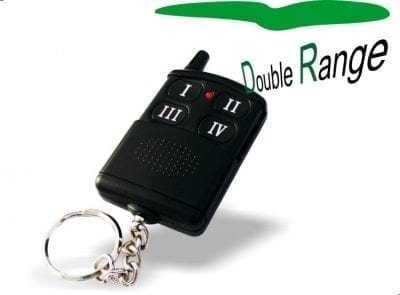 Key fob 4-button RF remote