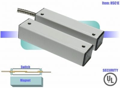 Triple-biased high security switch