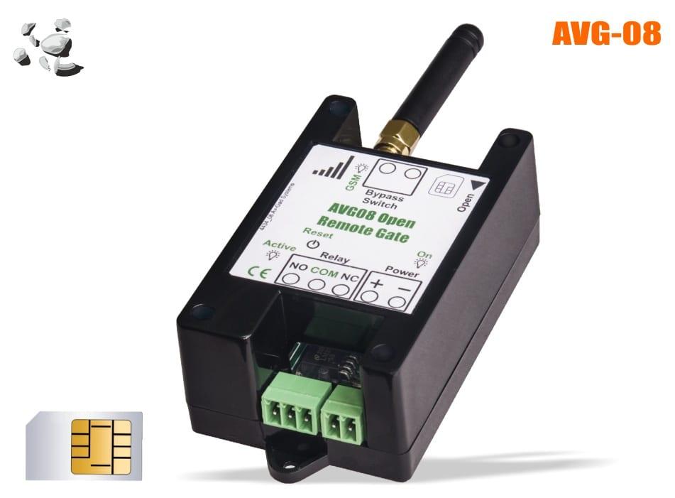 GSM Gate Opener AVG-08 - Alarm Security Systems by Av-Gad