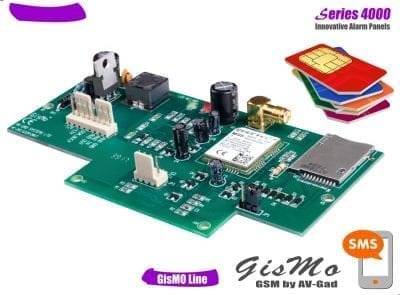 GisMo GSM add-on module