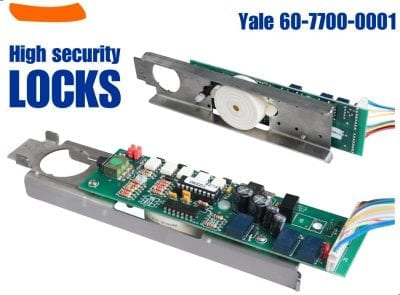 Yale 60-7700-0001. Circuit Board for Latch Pullback Yale