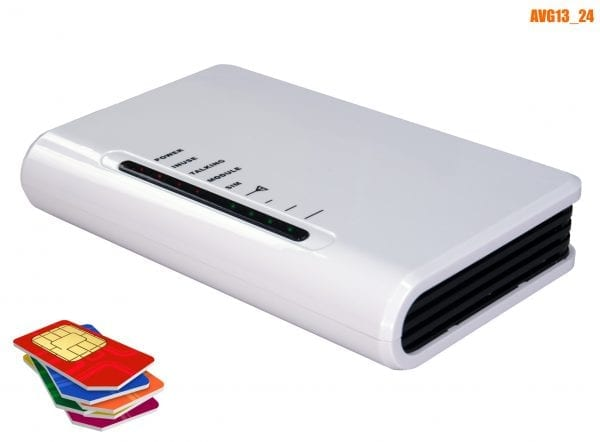 GSM alarm backup 24V