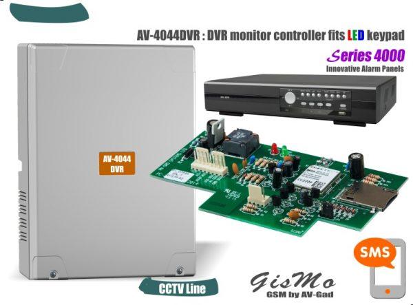 GSM DVR Monitor