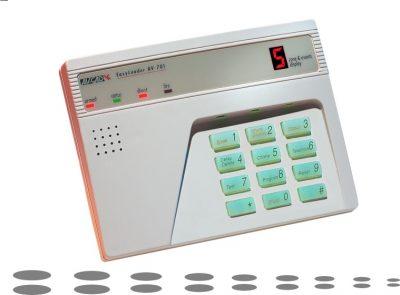 Digital 7 Segments Alarm Keypad