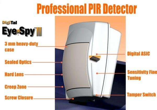 Eye Spy II professional PIR detector