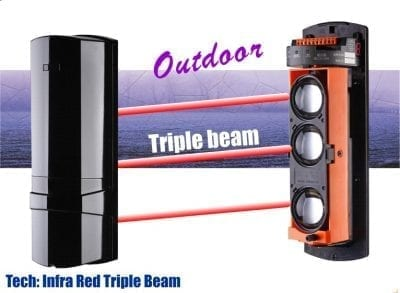 triple outdoor beam