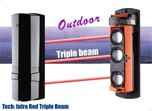 triple outdoor beam
