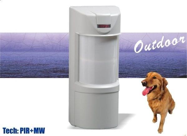 Dual Tech outdoor detector