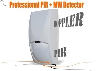 PIR & Microwave Detector