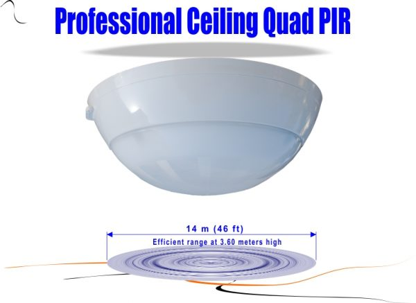 Ceiling Mount Digital PIR Detector