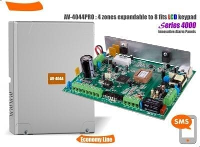 AV-4044 PRO LCD alarm panel