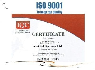 Av-Gad ISO 9001