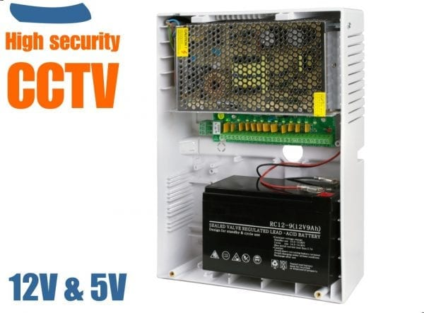 CCTV Power Supply & UPS