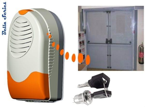 Commercial door alert siren