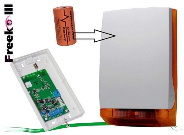 Wireless Outdoor Siren Freeko III