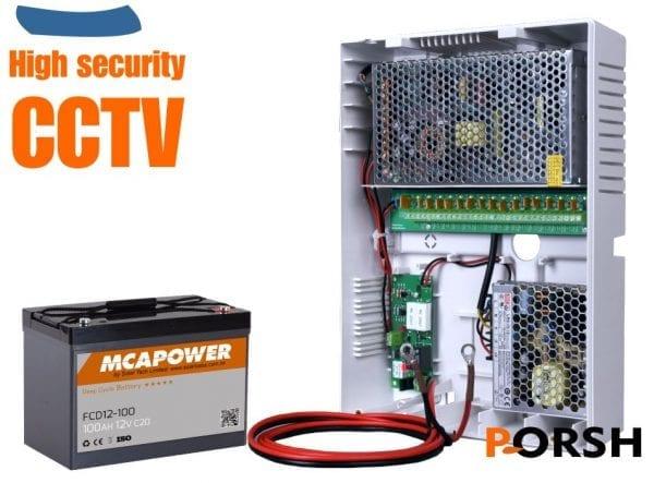Ext Battery CCTV power
