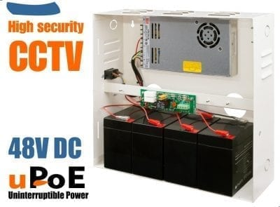 UPS for CCTV PoE system