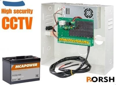 CCTV UPS by Ext Battery