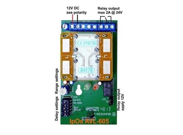 AVL-605 MW light switch