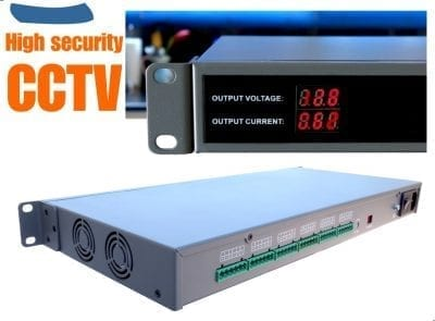 Central CCTV Rack Mount Power Supply