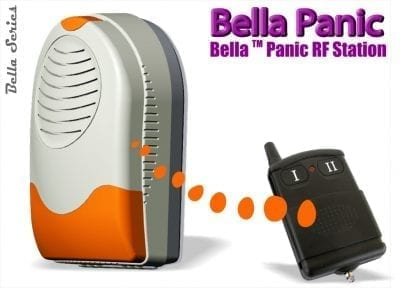 Wireless Panic Siren & Strobe Light