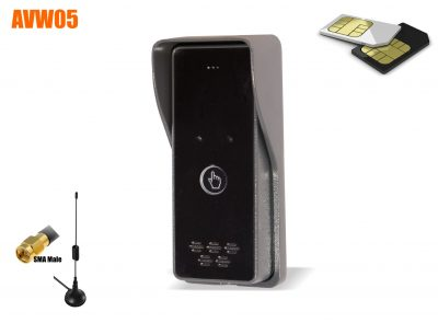 GSM elevator call-up intercom
